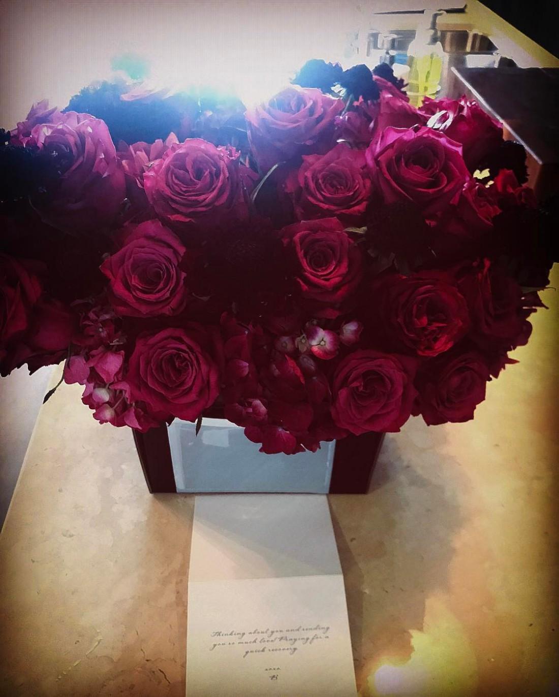 Цветы от Бейонсе