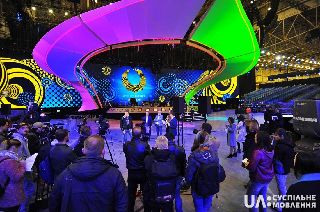 Евровидение 2017 Украина: сцена конкурса