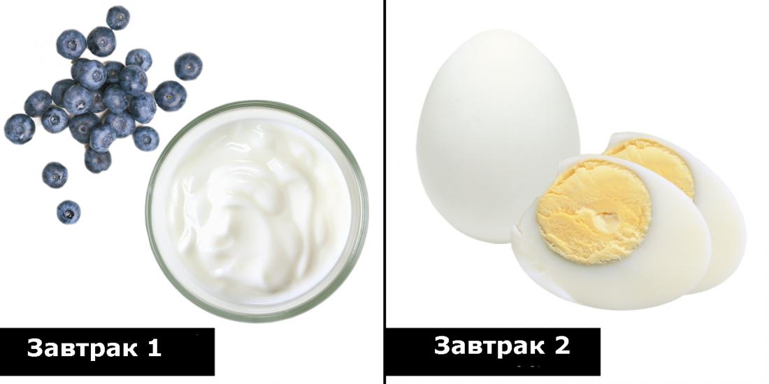 правильное питание идеи завтраков
