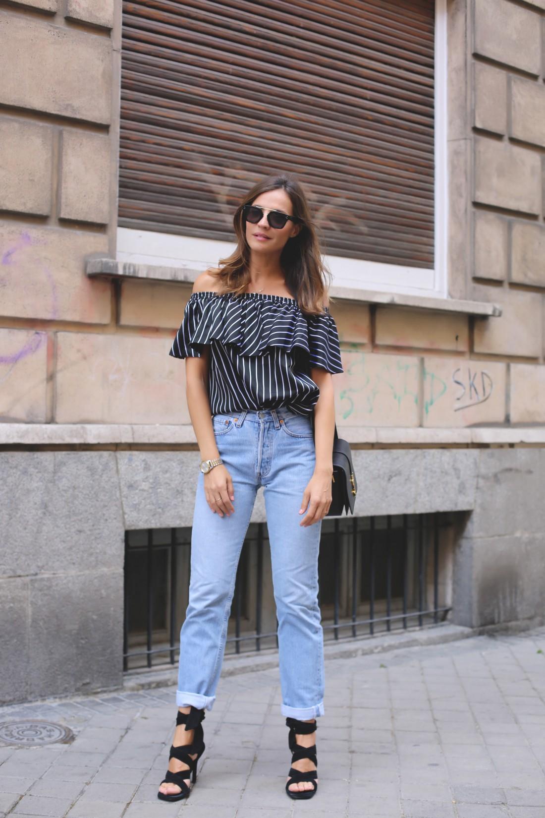 Mom jeans: образ №1