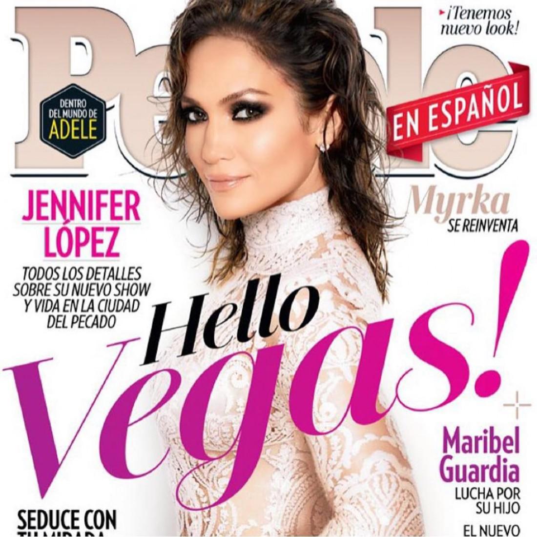 Дженнифер Лопес снялась для обложки People
