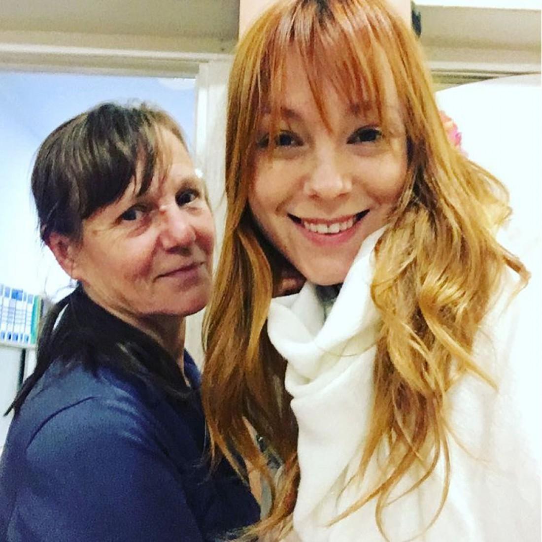 Тарабарова с мамой