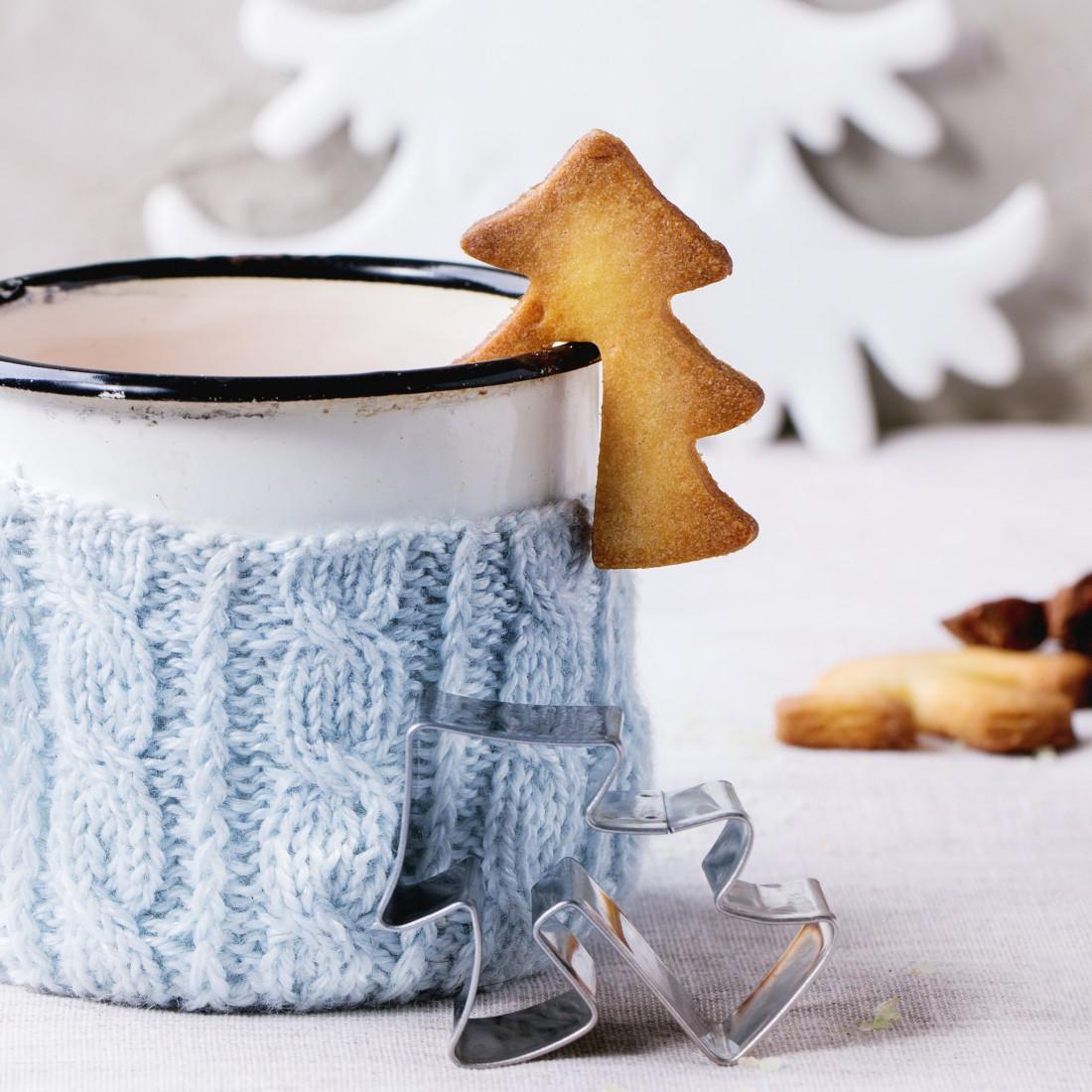 Праздничный зимний коктейль