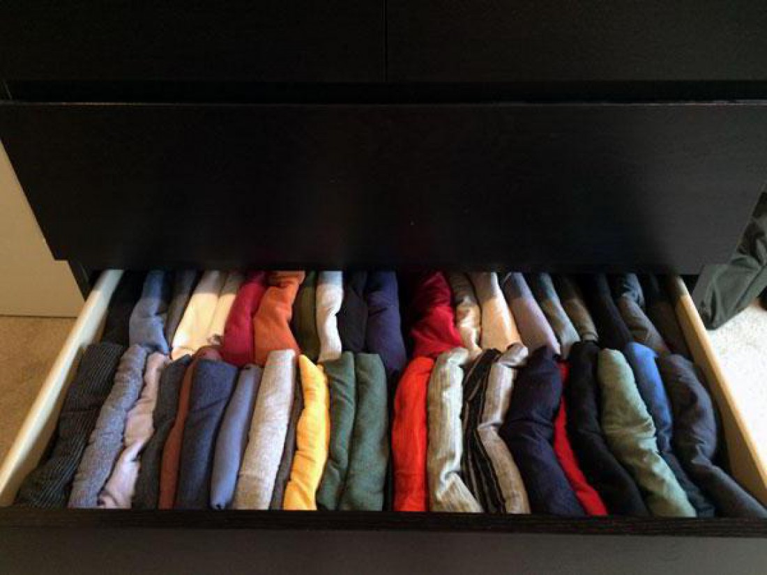 Одежда в рулонах