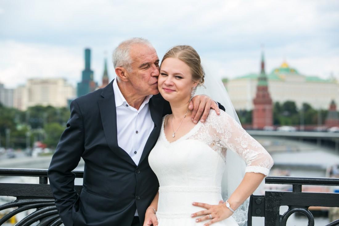 Сергей Гармаш с дочкой