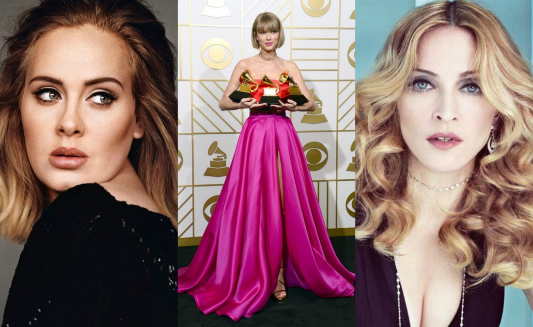 Тейлор Свифт возглавила рейтинг Forbes самых богатых молодых звёзд