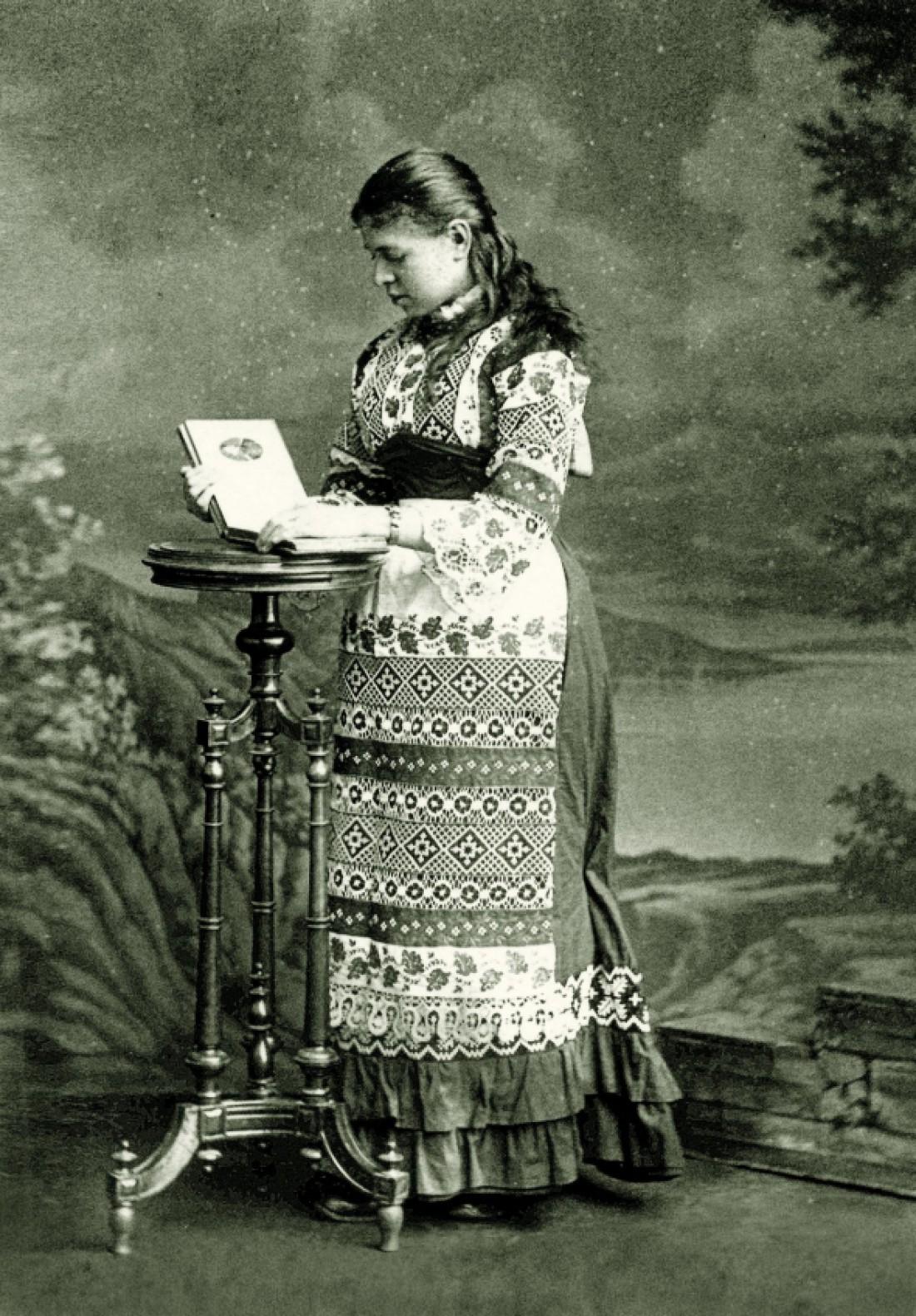 Ольга Хоружинська, дружина Івана Франка