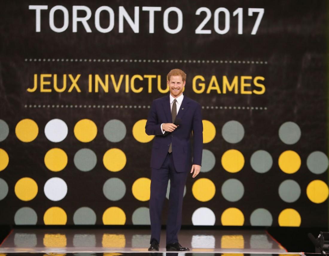 Принц Гарри в Канаде в рамках Invictus Games