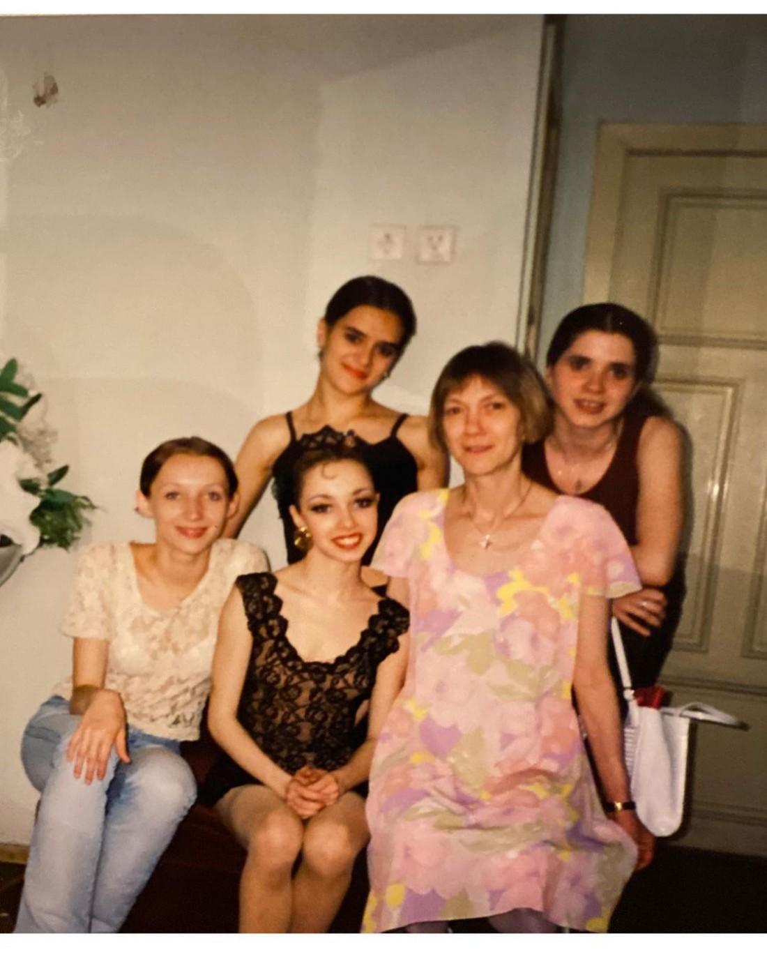 Екатерина Кухар показала фото из юности
