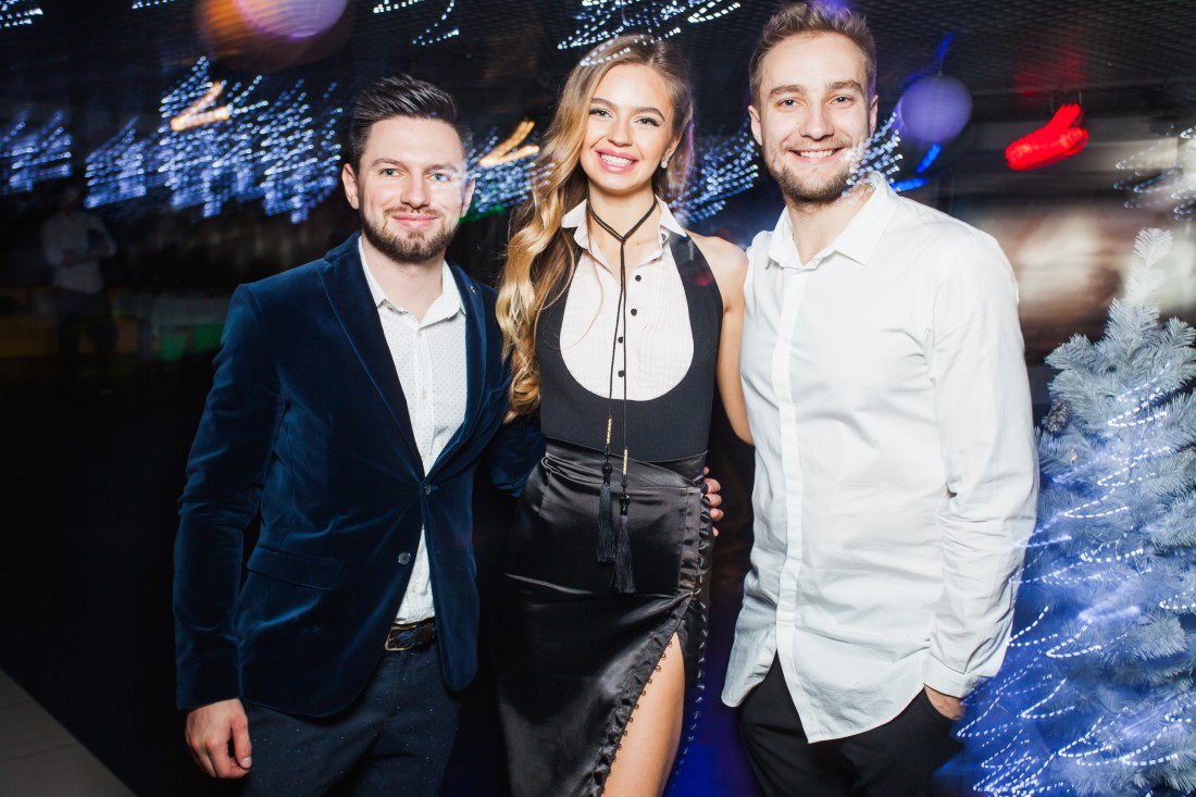 Группа CELEBRITY: Орест Галицкий, Яна Брилицкая, Вадим Ковеня