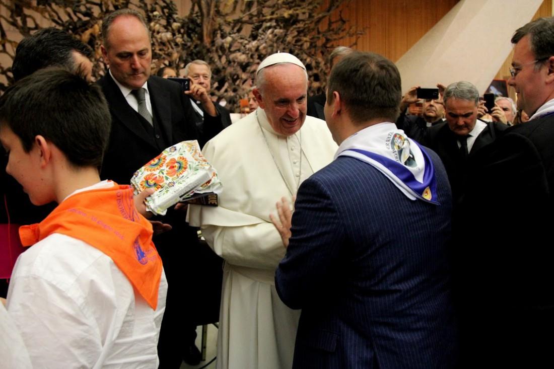 Артисты цирка Кобзов выступили перед Папой Римским