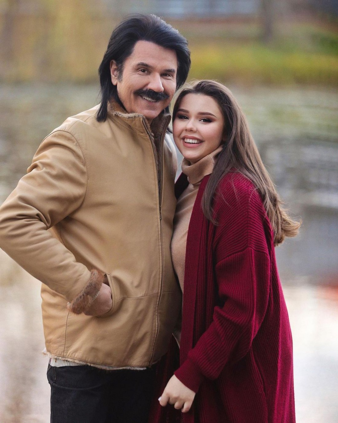 Павел Зибров с дочерью