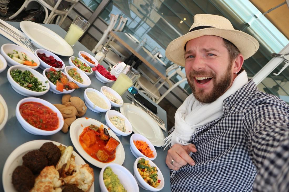 Антон Равицкий в Израиле