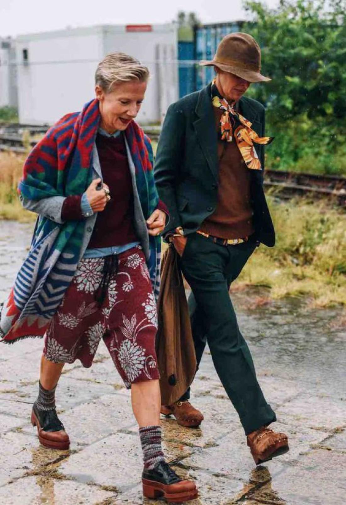 ТОП-30 самых стильных бабушек и дедушек