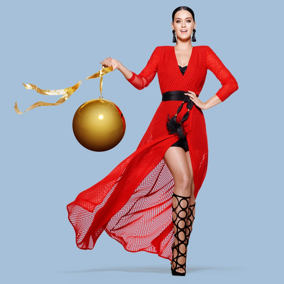 Певица Кэти Перри для H&M