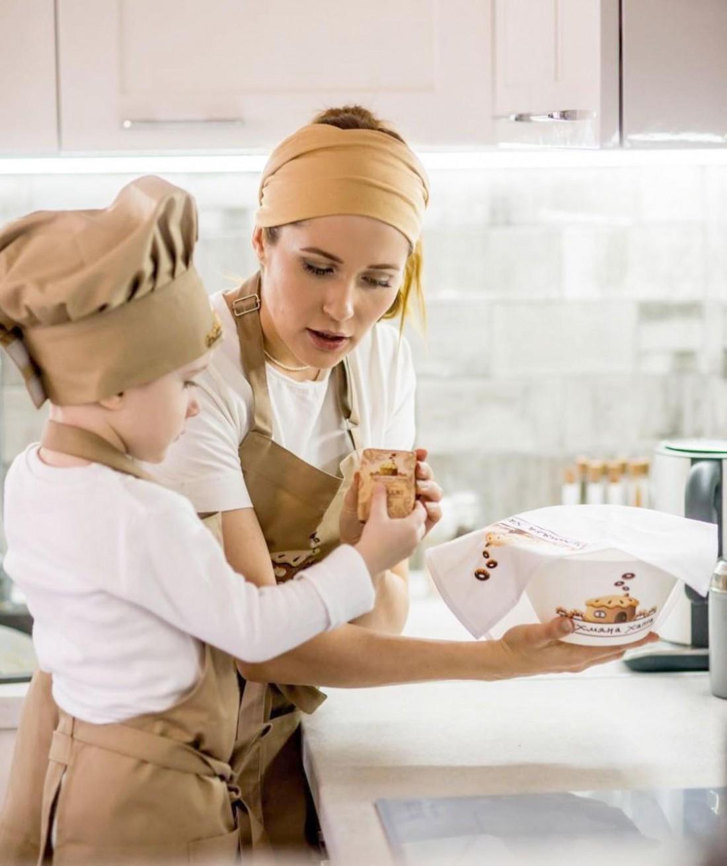 Наталка Денисенко показала, как готовит вместе с сыном