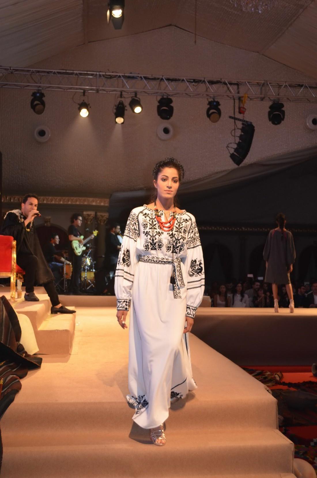 Украинская мода в Тунисе