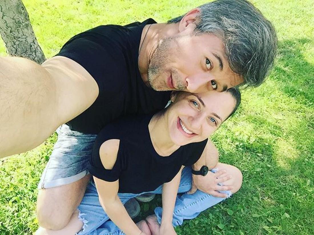 Бабкин с женой