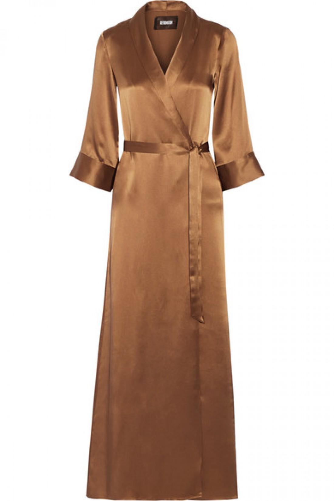 Платье бронзового цвета