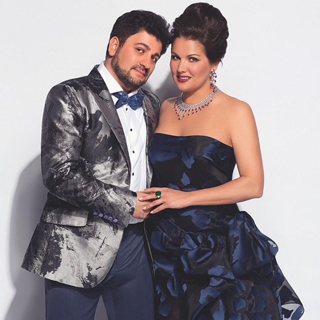 Анна Нетребко с мужем Юсифом Эйвазовым