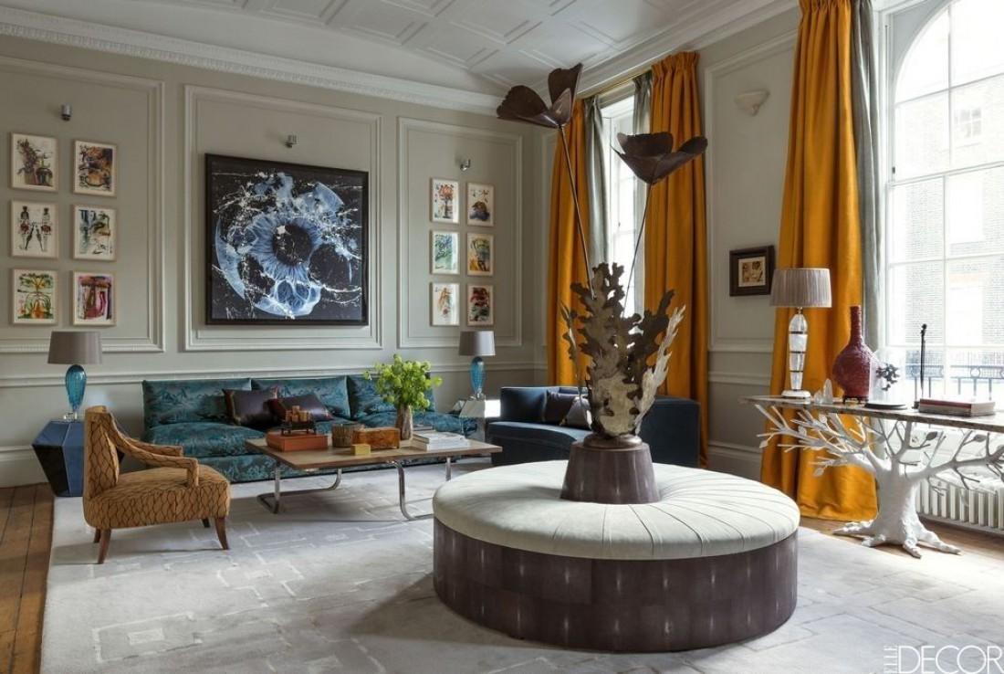 Как сделать комнату элегантной с помощью штор Дизайн