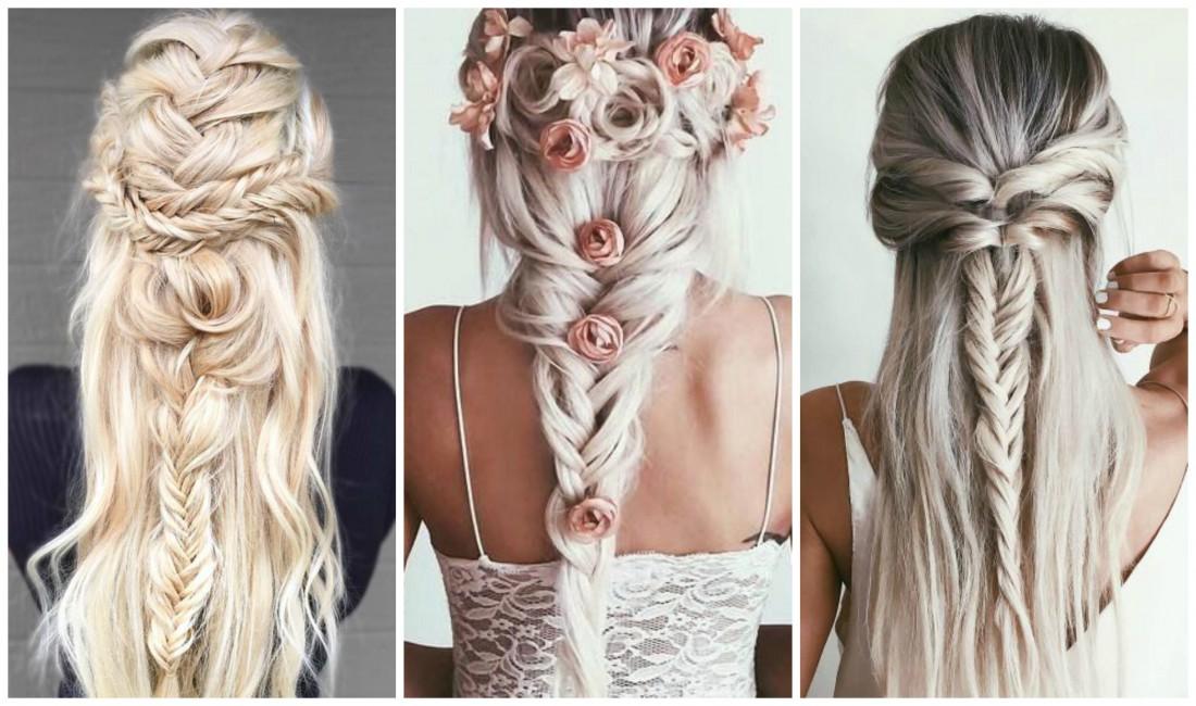 Красивые варианты плетения кос