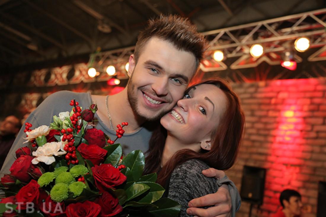 Андрей Инкин с возлюбленной Оксаной