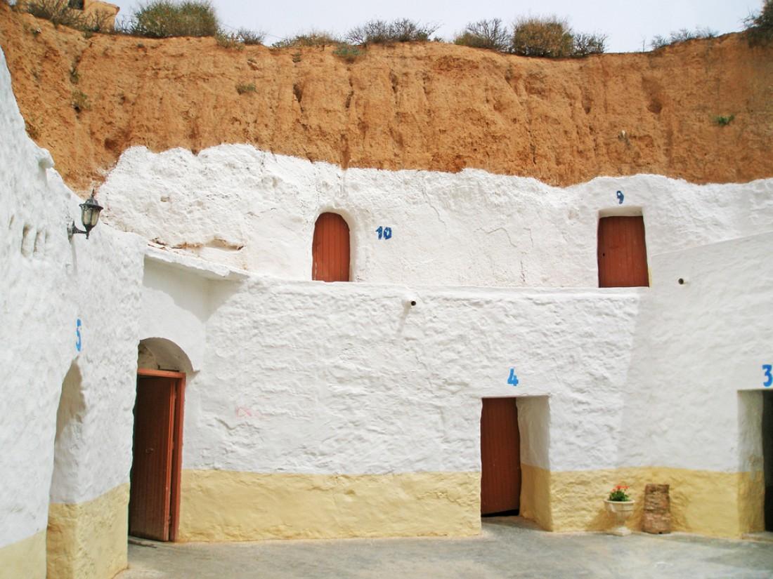 Отель Сиди-Дрисс. Матматат-Аль-Кэдимал, Тунис