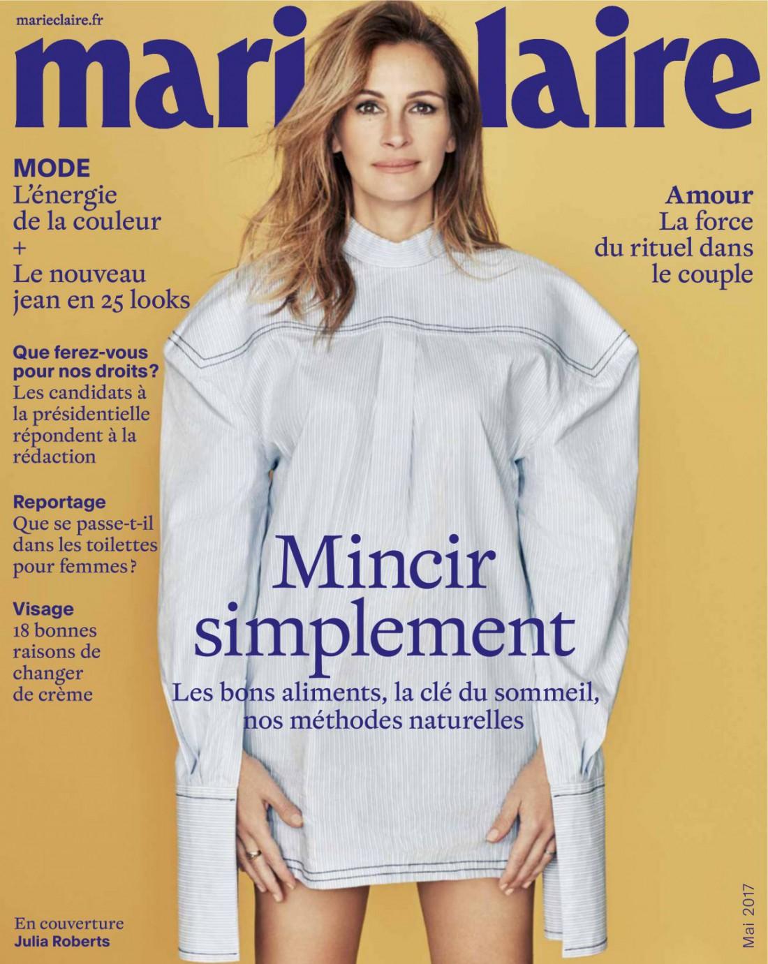 Джулия Робертс стала главной героиней журнала Marie Claire