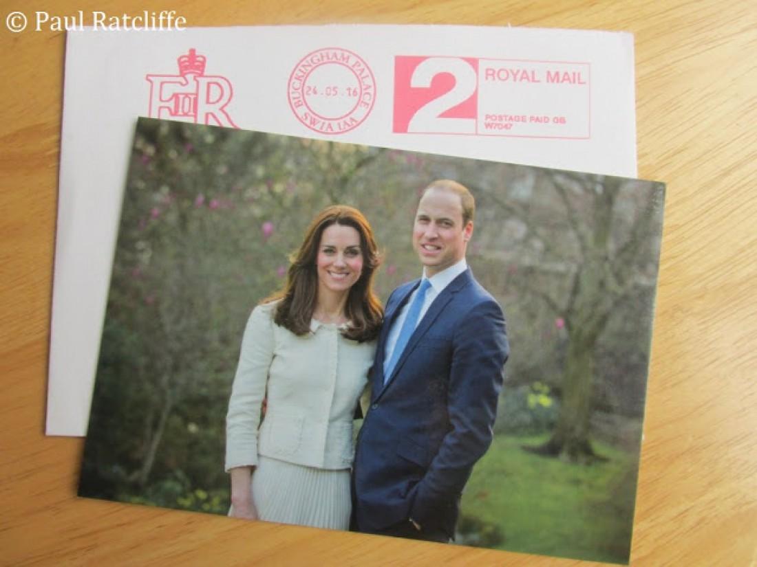 Новый портрет Кейт Миддлтон и принца Уильяма