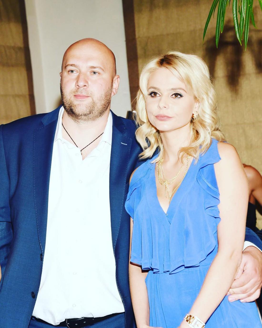 Ксения Новикова с мужем