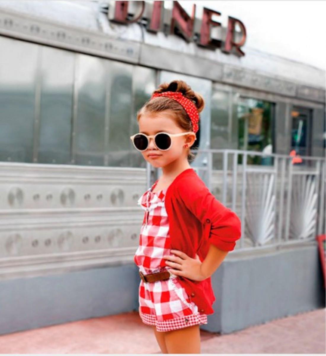 Стильные образы на лето для детей