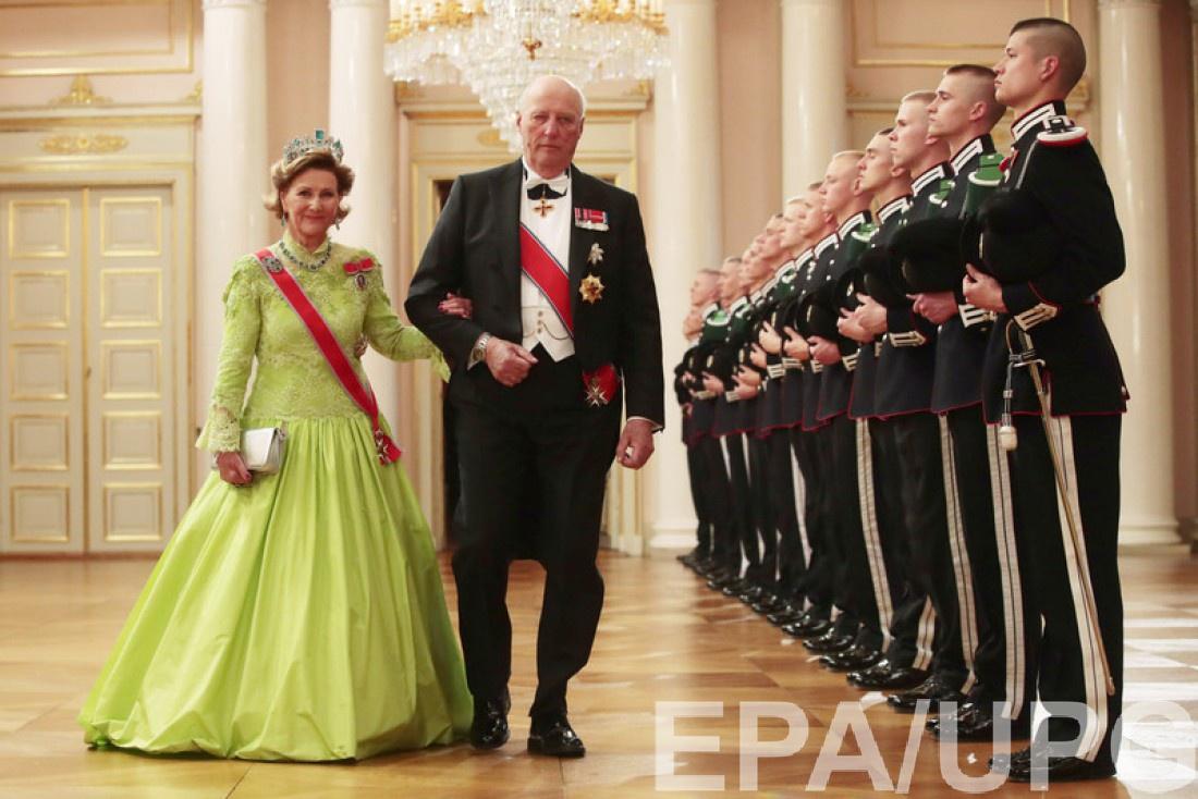 Юбилей короля Харальда и королевы Сони