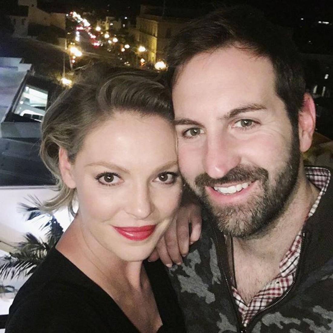Кэтрин с мужем