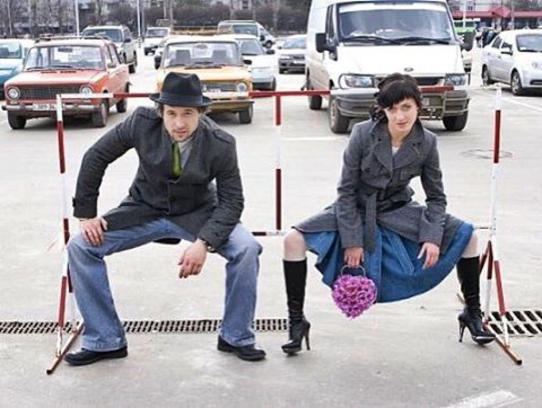 Фото сделанное в день свадьбы Сергея и Снежаны Бабкиных