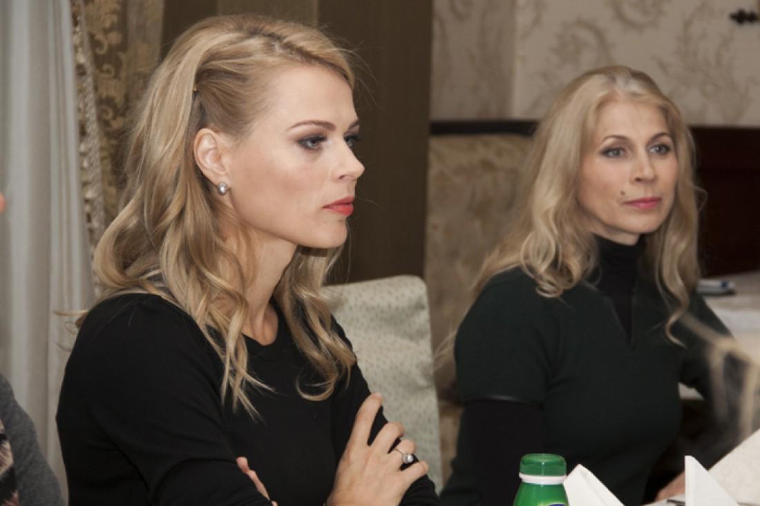 Ольга Фреймут с мамой Аллой Михайловной