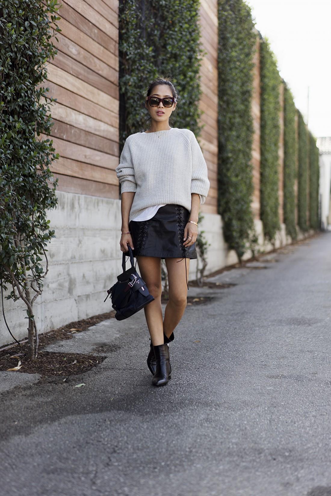 Как одеваться девушкам с маленьким ростом: образ №3