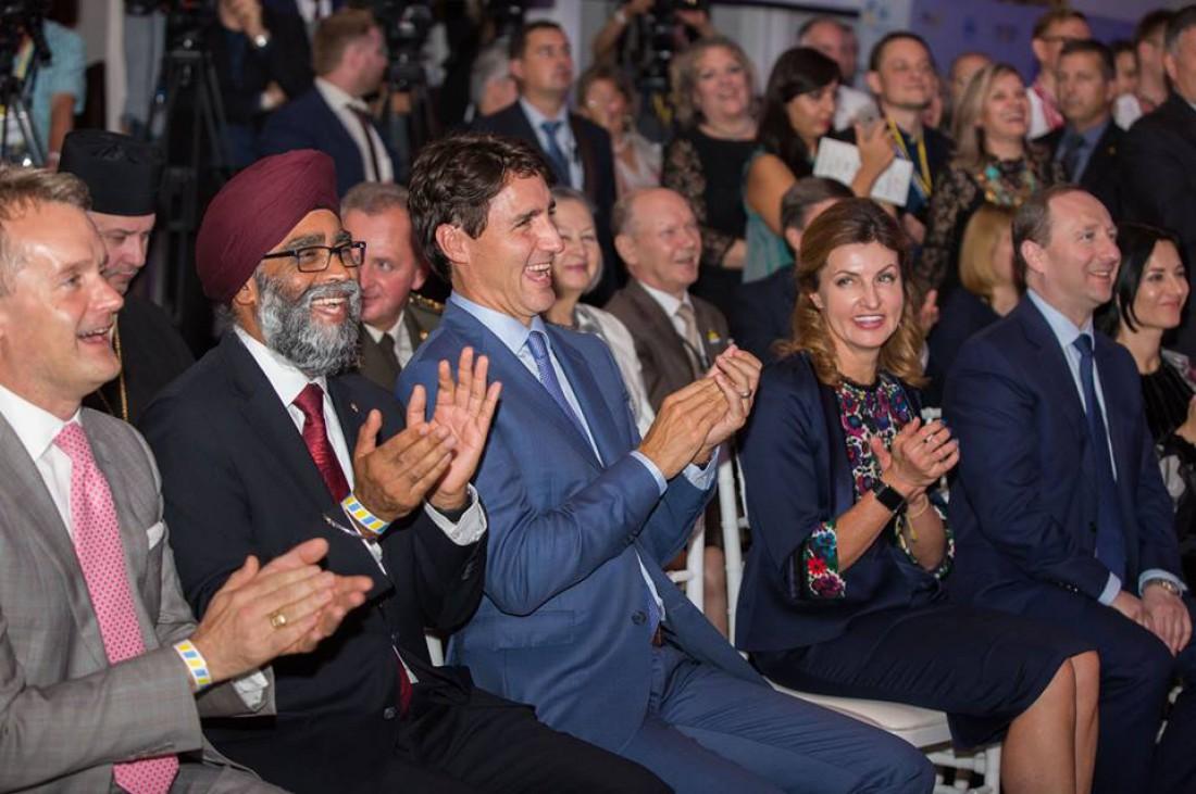 Марина Порошенко в Канаде