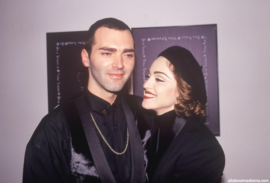 Кристофер и Модонна в 90-ых