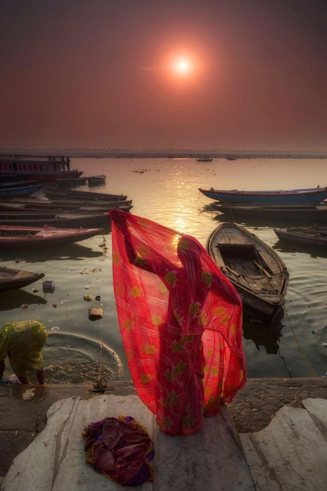 Река Ганг - священное место для индусов