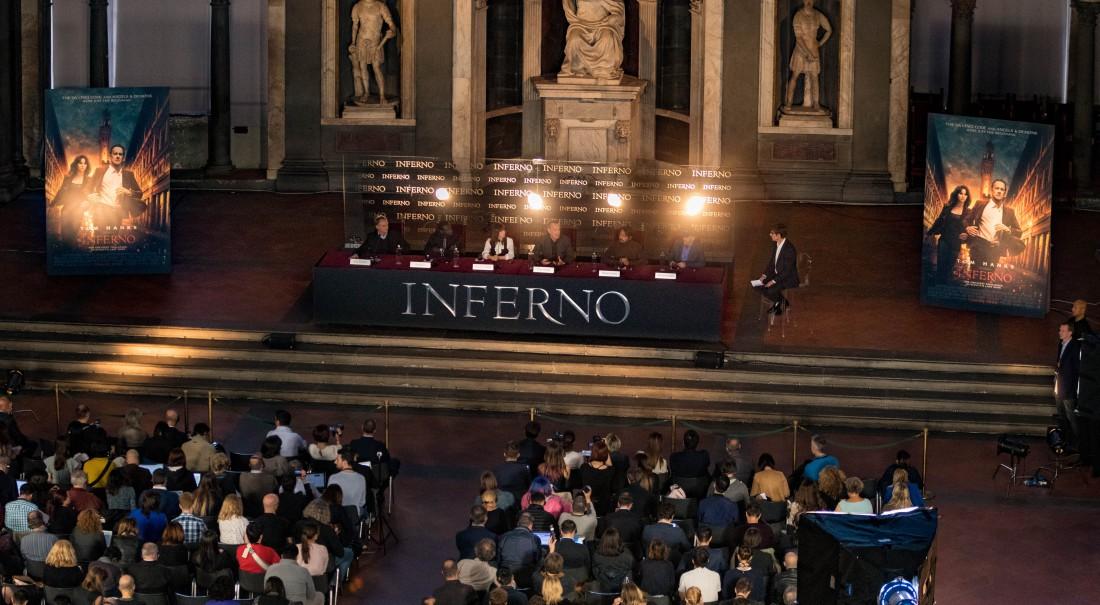 Пресс-конференция в Палаццо Веккьо