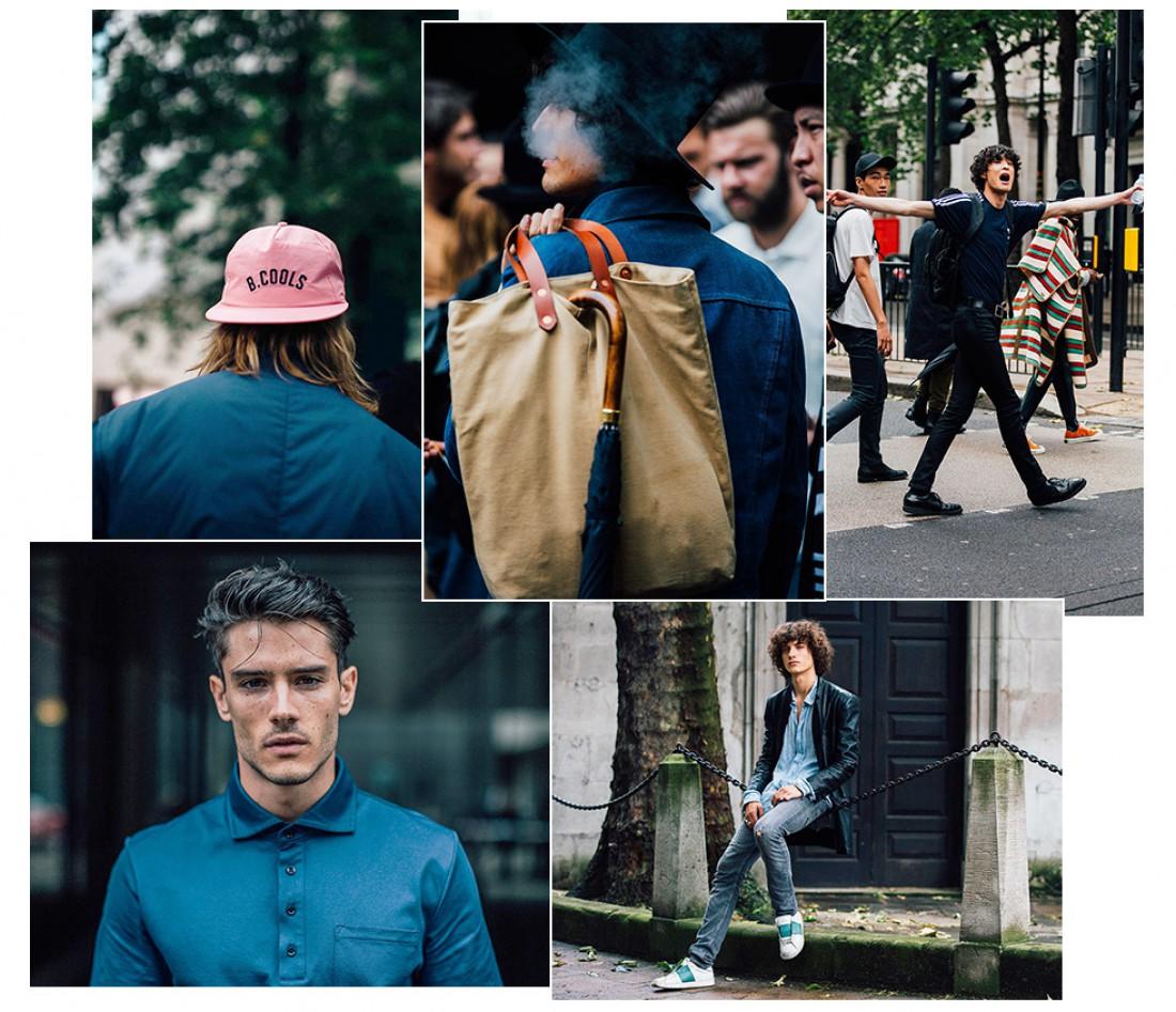 Street looks с Недели мужской моды в Лондоне