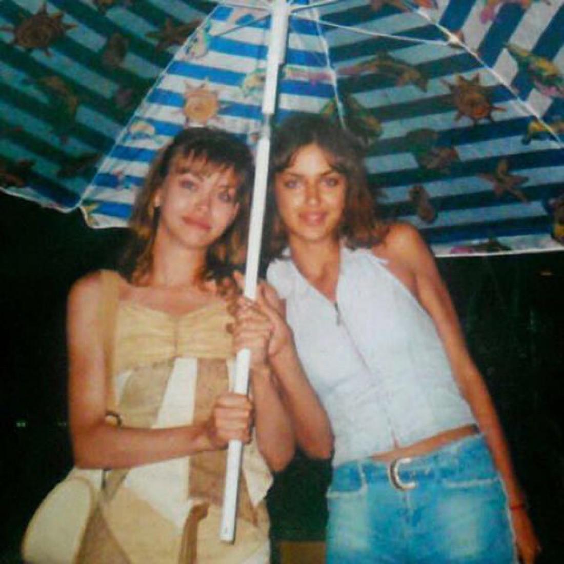 Ирина с сестрой Татьяной