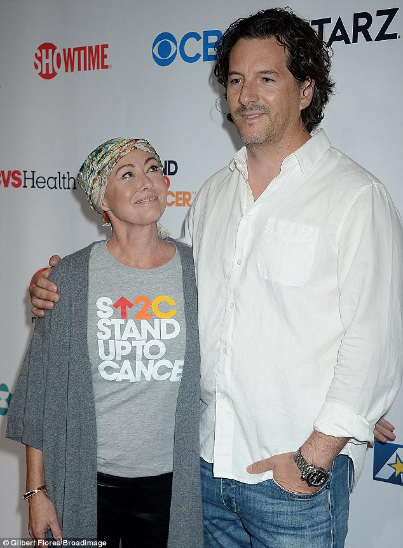 Шеннен Доэрти с супругом