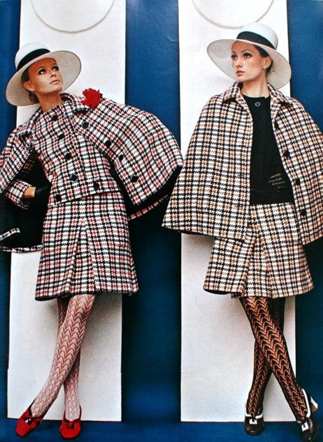 Кейпы от Nina Ricci в 1968 году