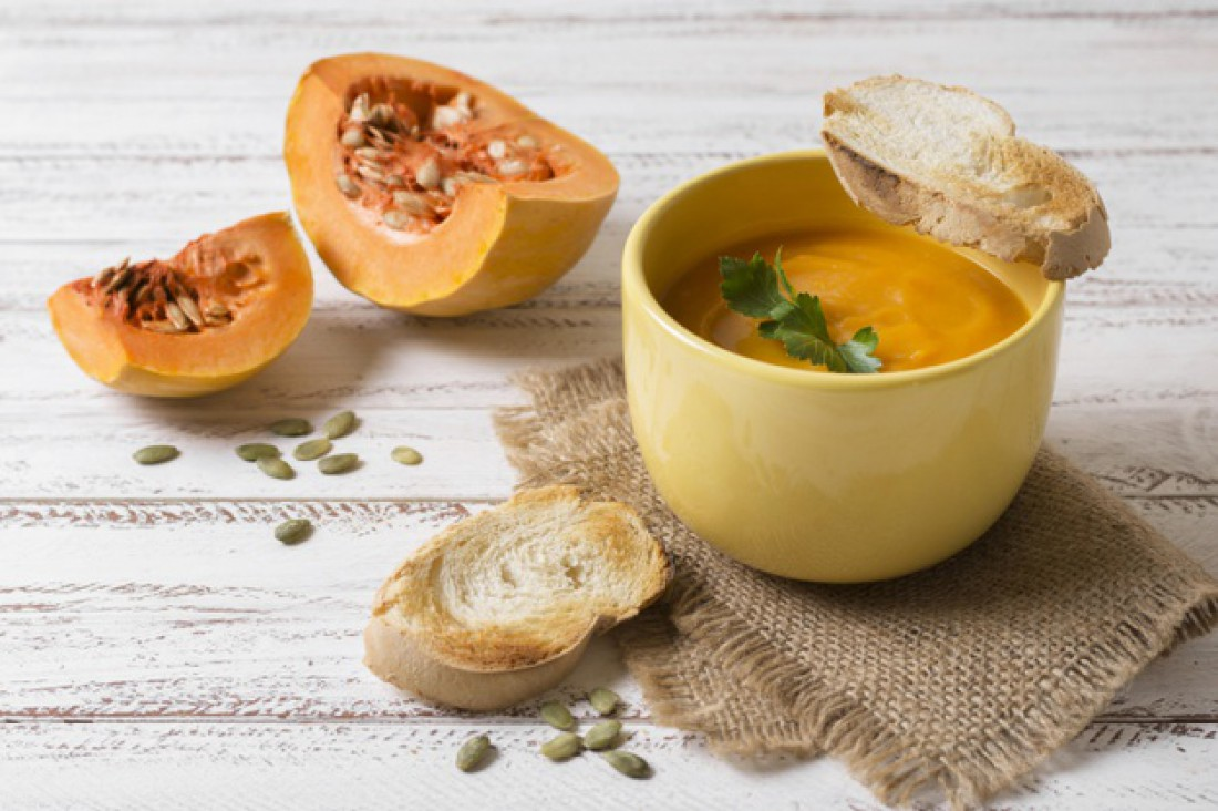 Тыквенный суп-пюре: Рецепт ароматного супа по-индийски
