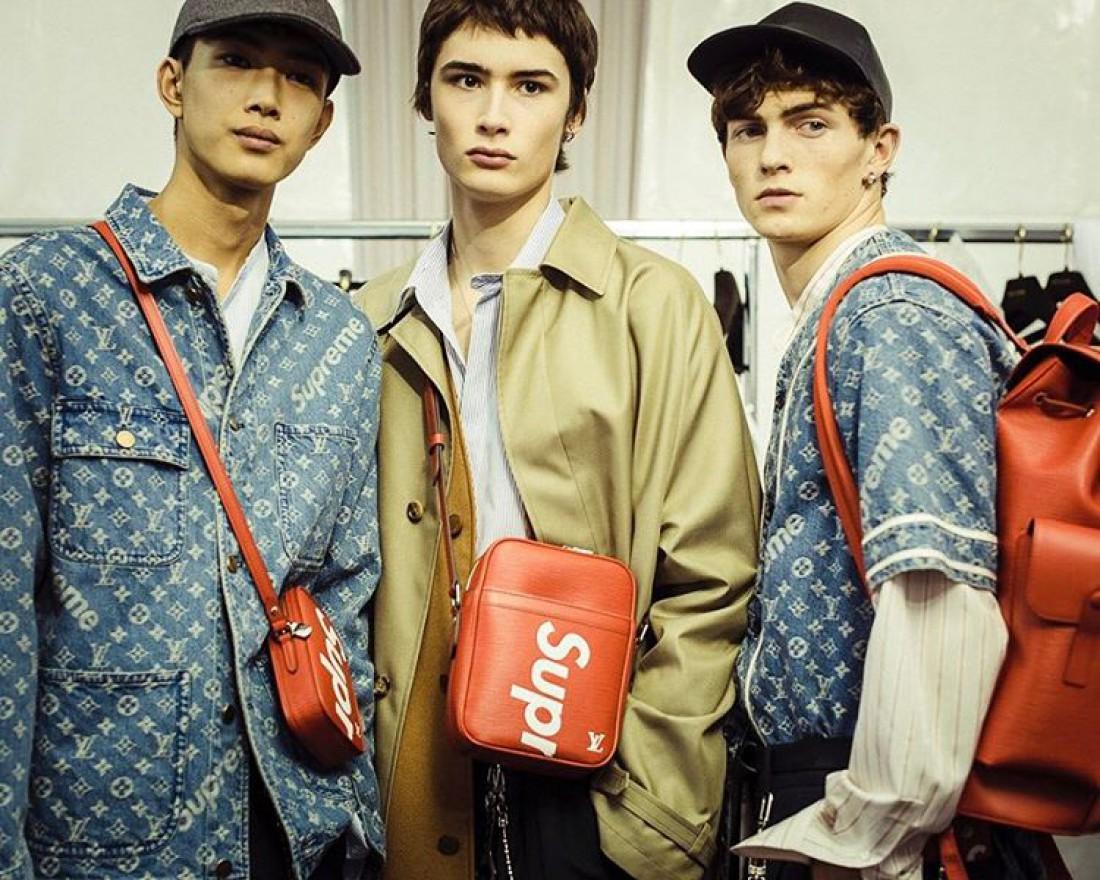 Высокая уличная мода  Louis Vuitton представили коллаборацию с ... 2546fe62cf2