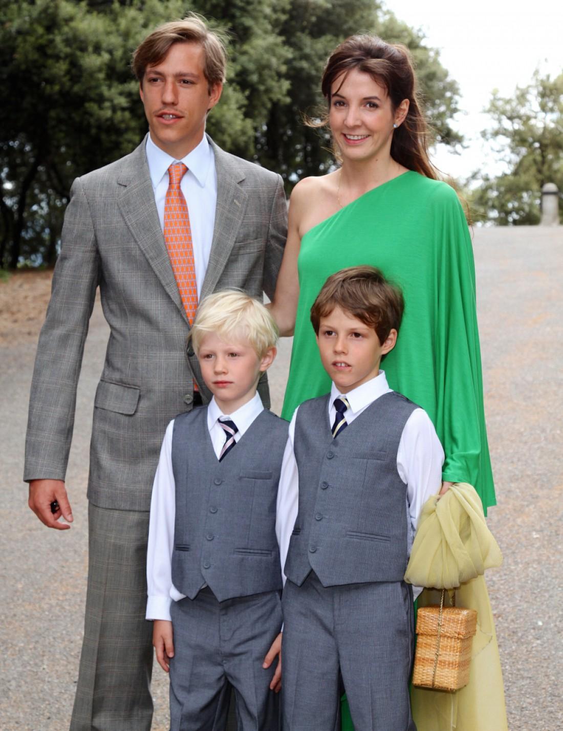 Монархи с детьми