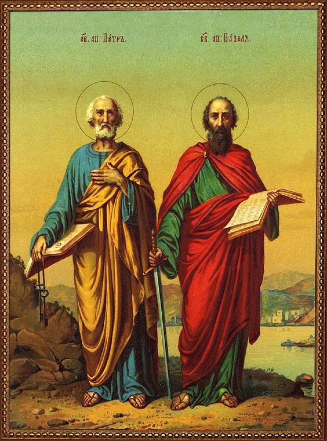 Петров пост 2020: Апостолы Петр и Павел
