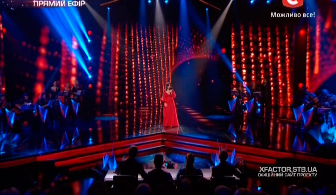 Х-фактор 6 сезон третий прямой эфир: Кристине Мартиашвили